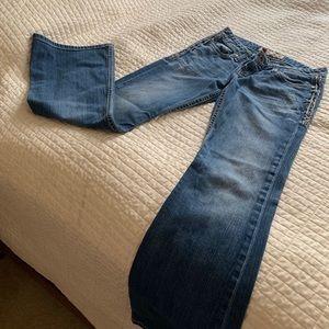 BKE denim Sabrina jeans 27 x 31 1/2.